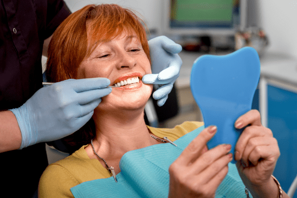 getting a dental implant
