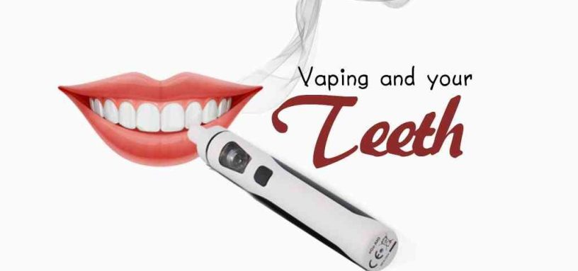 learn what vaping does to your teeth and mouth